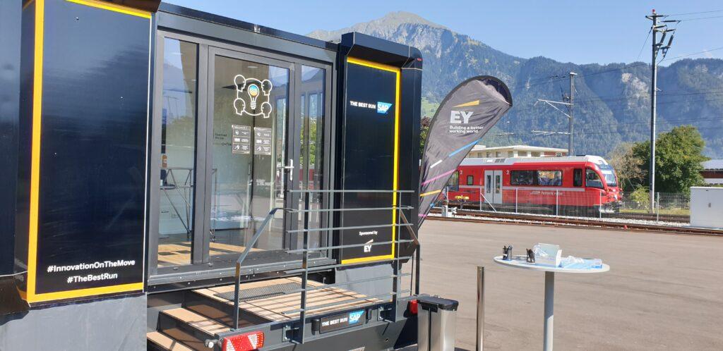 SAP Truck bei RhB